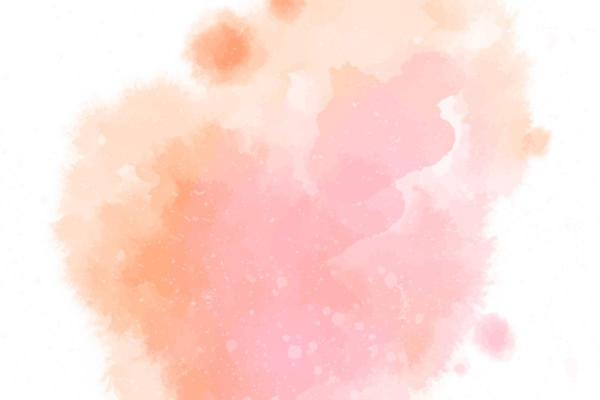 How to make the color pink - How to make the color pink with watercolor step by step