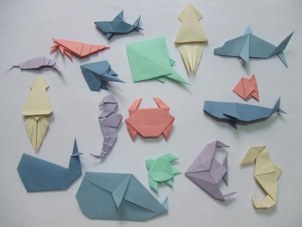 Origami fácil várias formas