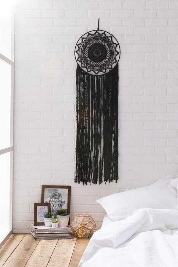 decoração clean com filtro dos sonhos preto Foto Pinterest