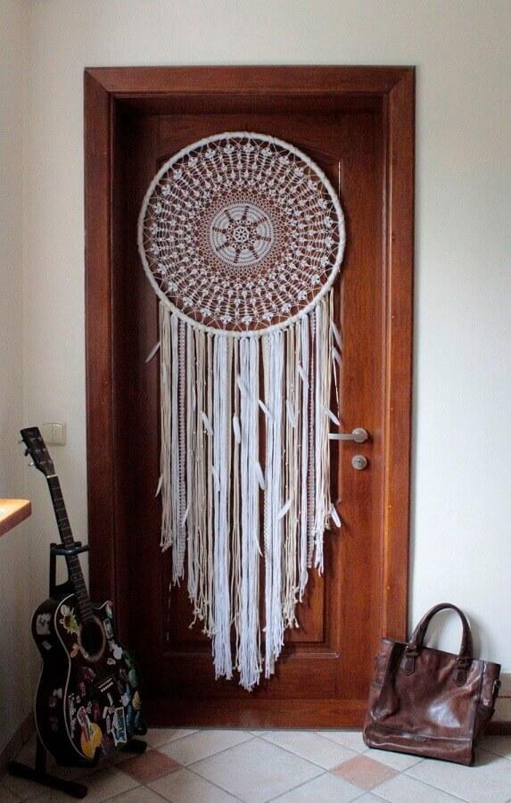 porta decorada com filtro dos sonhos Foto Etsy