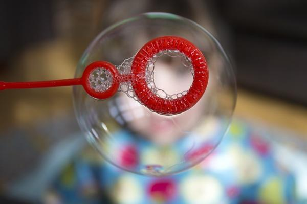 How to make giant soap bubbles - Step 1