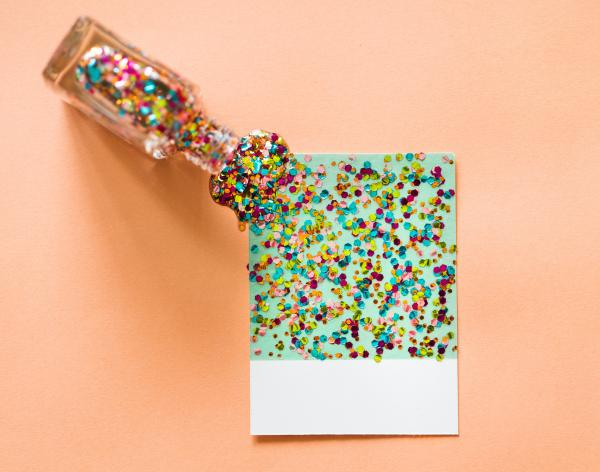 How to make biodegradable glitter