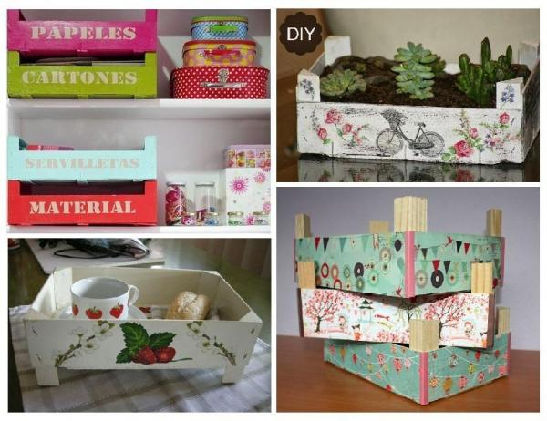 How to recycle strawberry boxes