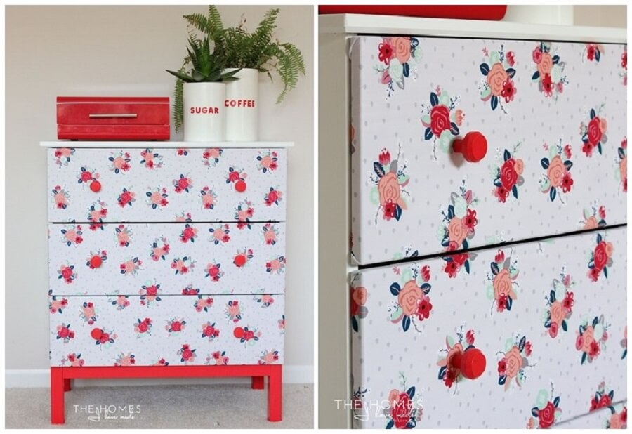 custom furniture with fabric scraps