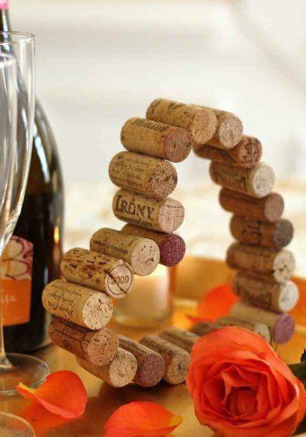 Artesanatos fáceis com rolha de vinho