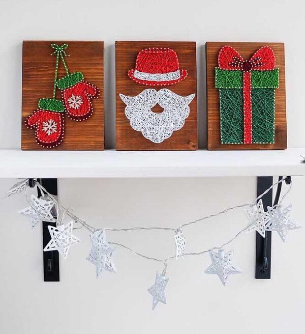 A decoração natalina pode ficar ainda mais especial