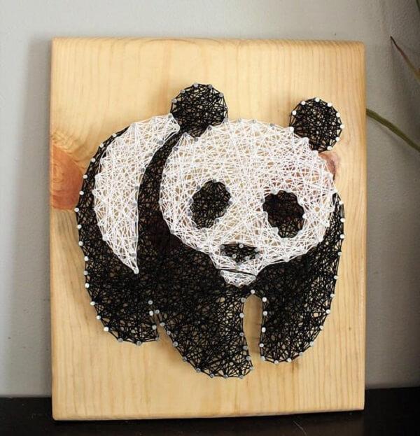 Molde de panda para você se inspirar e criar sua peça