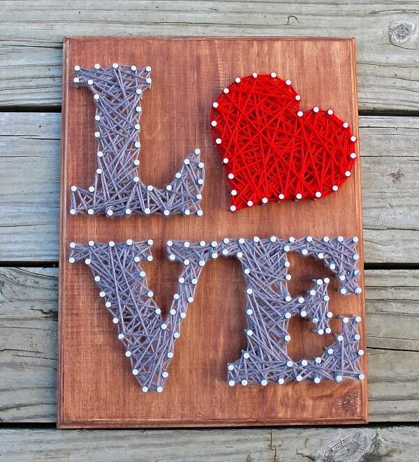 Deixe o amor invadir sua decoração