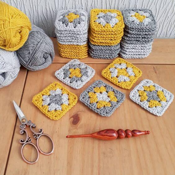 Monte um kit completo com coisas de crochê para iniciantes