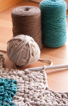 Escolha uma boa linha de crochê para iniciantes