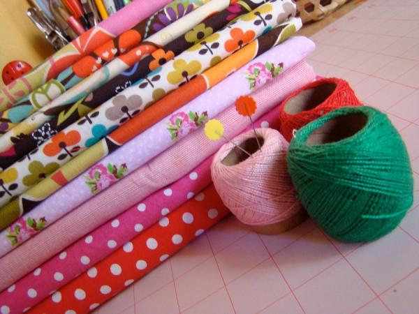 How to make a fabric necessaire - Step 1