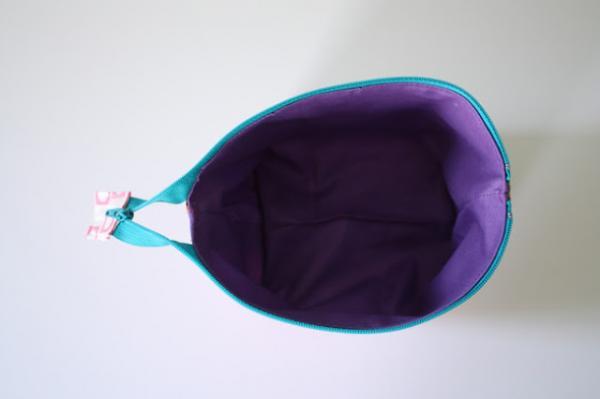 How to make a fabric necessaire - Step 6