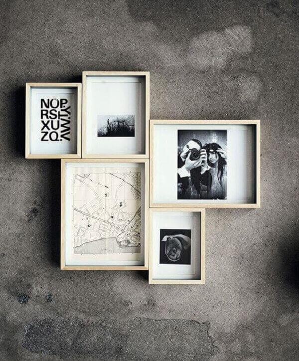 Molduras para quadro de fotos
