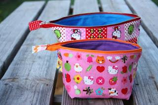 How to make a fabric necessaire