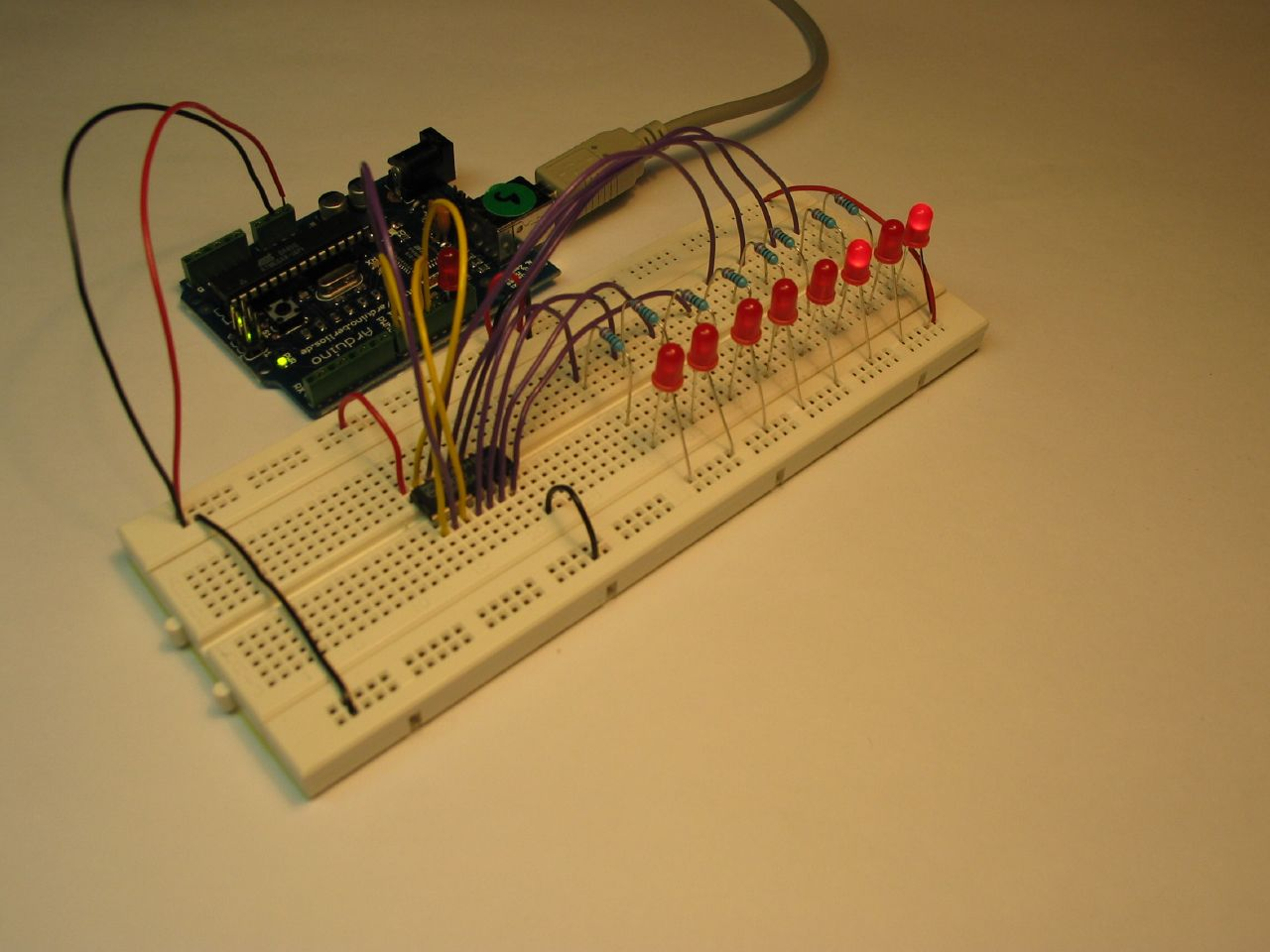 Why is it necessary to use a resistor in series with an LED?